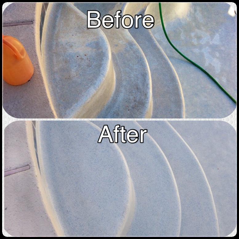 Acid Wash Before After