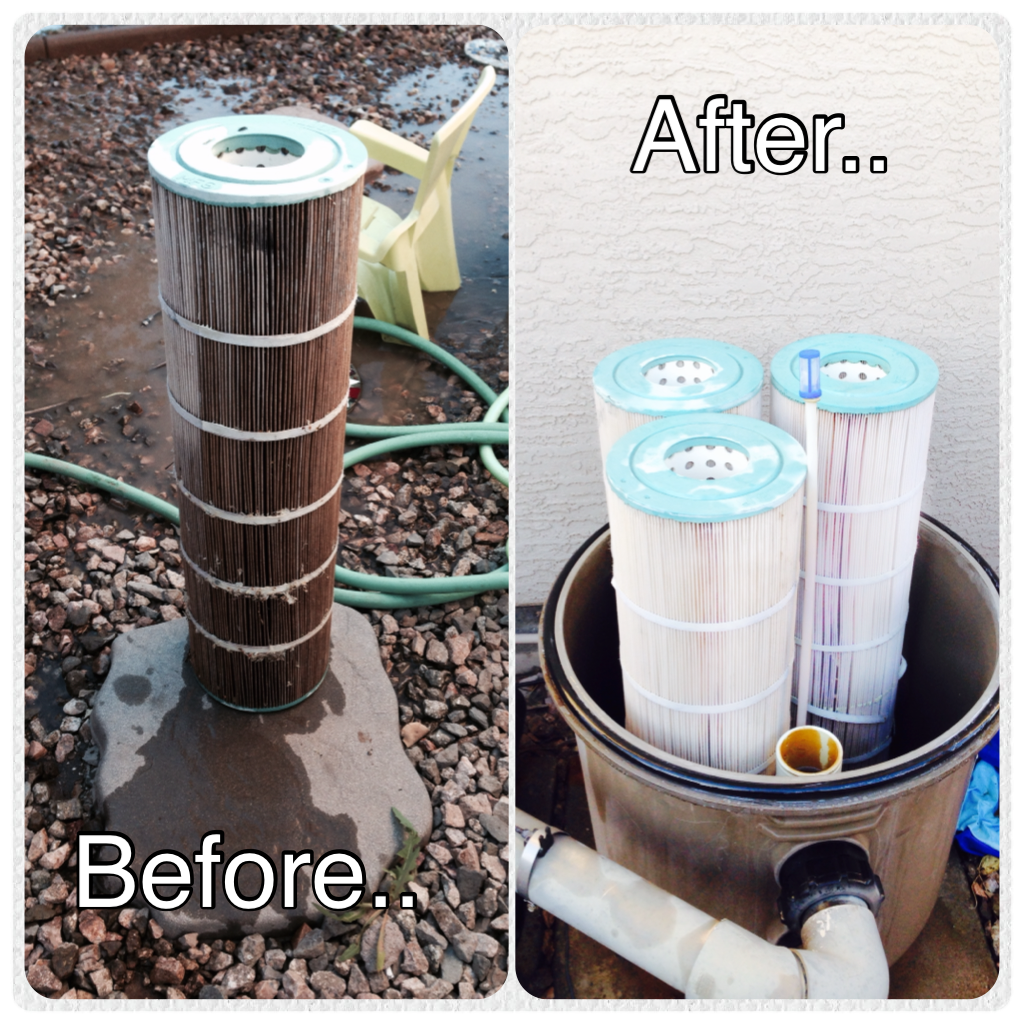 Cartridge Filter Cleaning