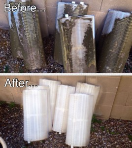 DE Pool Filter Cleaning