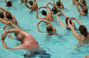 Yoga triangles pool