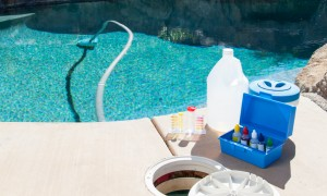 Pool cleaning & chemical